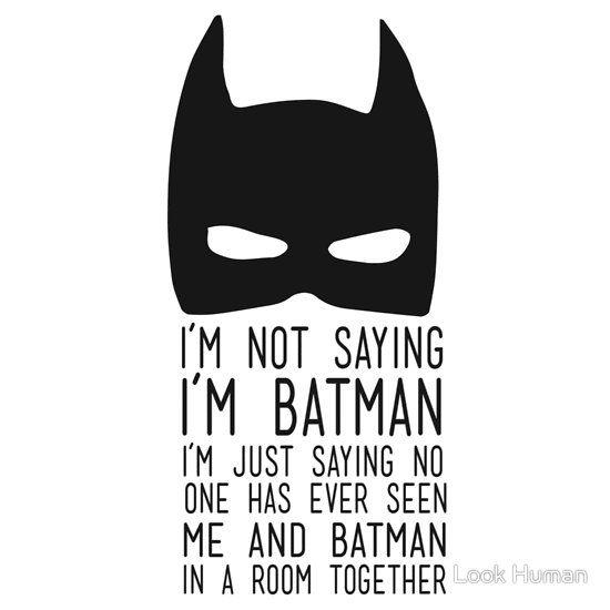 Batman Pinterest